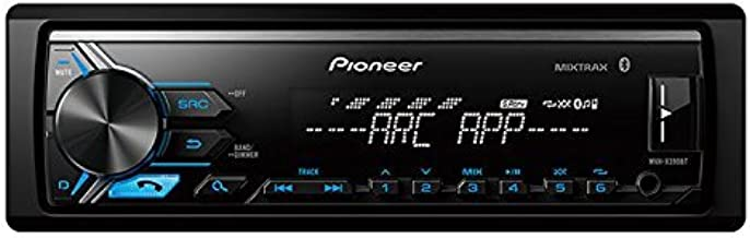 Pioneer MVH-X390BT Vehicle Digital Media Receiver with Pioneer ARC app compatibility,Built-in Bluetooth and USB Direct Control for iPod/iPhone and Certain Android Phones, Black (Renewed)