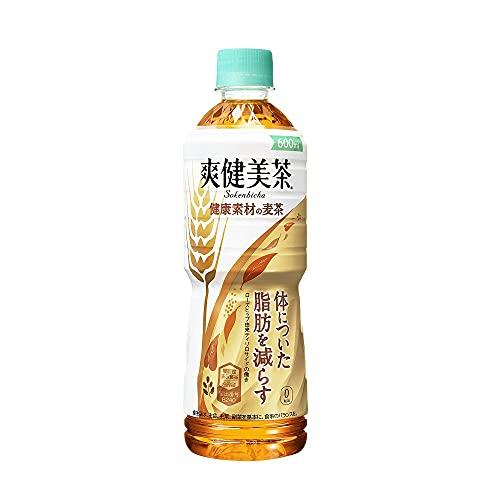 コカ・コーラ 爽健美茶 健康素材の麦茶 600mlPET×24本 [機能性表示食品]
