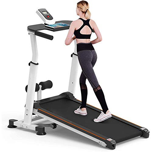 Manuelles Laufband, faltbares Laufband, Neigungsverstellung Laufband zum Gehen, Laufen für Erwachsene