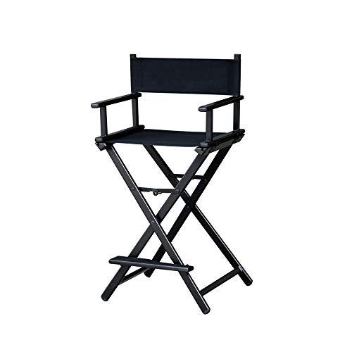 LHTCZZB Silla de maquillaje de almacenamiento plegable Director de aleación de aluminio + Material de tela de Oxford Impermeable Respirador reforzado No resbalón Adecuado para la silla de camping al a
