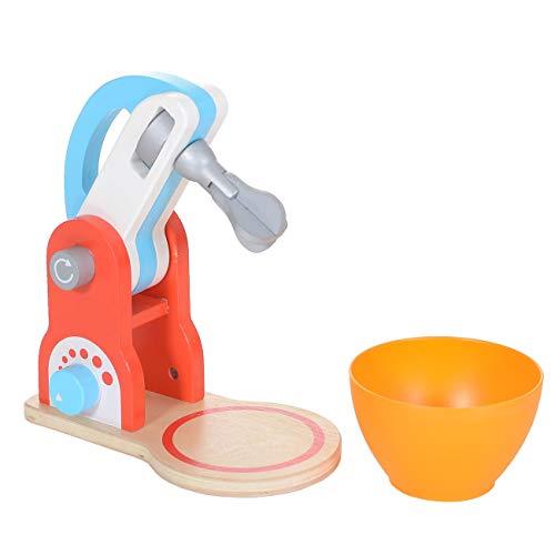 LCP Kids Mixer 2 teiliges Kinder Spielzeug Set aus Holz mit vielen Funktionen Kinderküche Zubehör