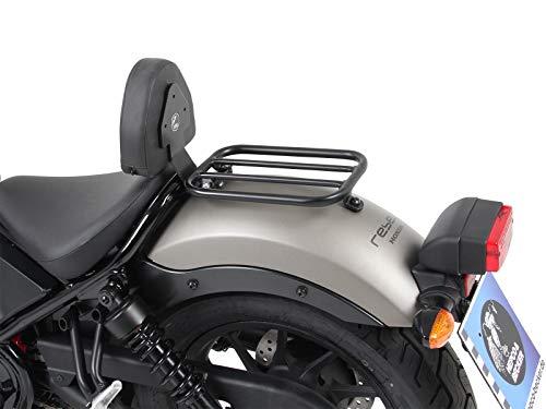 Hepco&Becker Solorack mit Rückenlehne - schwarz für Honda CMX500 Rebel ab Bj. 2017