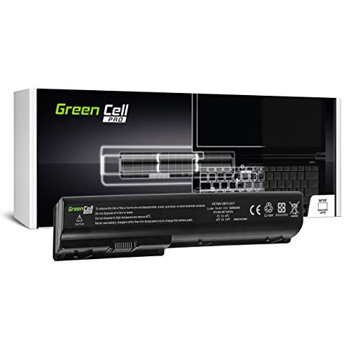 Green Cell PRO Battery for HP Pavilion DV7-2080EV DV7-2080EW DV7-2110SA DV7-2111US DV7-2112EG DV7-2120SF DV7-2120SL DV7-2124EO DV7-2124EZ DV7-2133EG Laptop (5200mAh 14.4V Black)