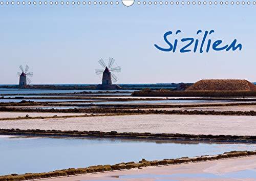 Sizilien (Wandkalender 2021 DIN A3 quer)