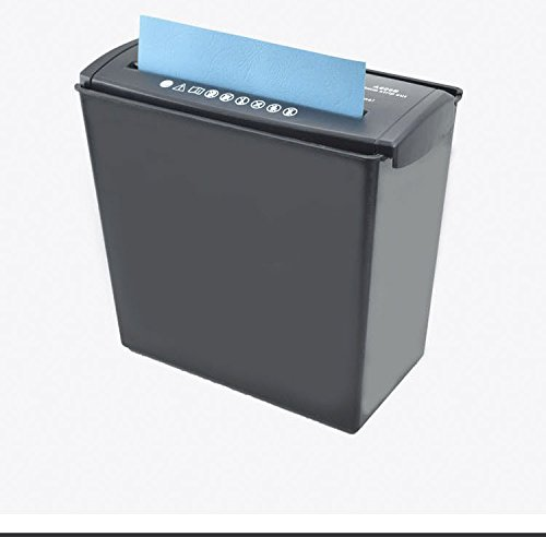 Crusher A606B Small Mini Office Shredder Home Electric Strip Micro-Cut Paper Shredder with Window for School Office Home