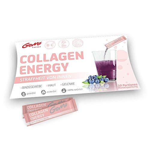 Colágeno de Belleza | Belleza desde dentro para beber | 5000mg Colágeno Marino Premium + Biotina + Zinc + Selenio + Complejo de Vitaminas B + Vitamina C | COLLAGEN ENERGY | Pack Mensual 30 Porciones