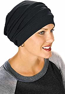 429859293ea Headcovers Unlimited Slouchy Snood-Caps for Women with Chemo Cancer Hair  Loss