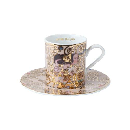 Goebel 66515693 Gustav Klimt Espressotasse mit Untertasse Die Erwartung