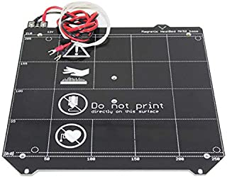 12V Y Carriage Magnetic PCB Heated Bed MK52 Heatbed Hotbed Without Magnets F/Prusa i3 MK3 3D Printer, with Cables, thermistor