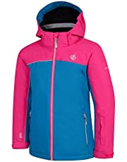 Dare 2b Legit Waterproof And Breathable Foldaway Hooded Ski And Snowboard Jacket With High Loft Insulation And Snowskirt Chaqueta Unisex niños