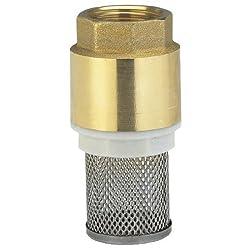 Flexibel einsetzbar: Das Ventil ist für den waagerechten sowie für den senkrechten Einsatz konzipiert Einfache Montage: Das Ventil wird ganz einfach mit dem Gewinde am Saugschlauch befestigt Hochwertiges Material: Der Ventilkörper ist aus Messing, de...