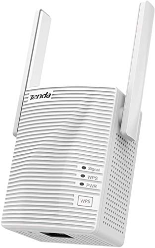Tenda A15 WiFi Extender AC750 Covers Up to 1200 Sq.ft and 20 Devices Up to 750Mbps Dual Band WiFi Range Extender Certified for AC750