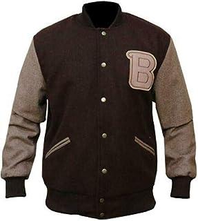 DeColure Unisex Hotline Miami Video Game Varsity Baseball Bruin Bomber Jacket