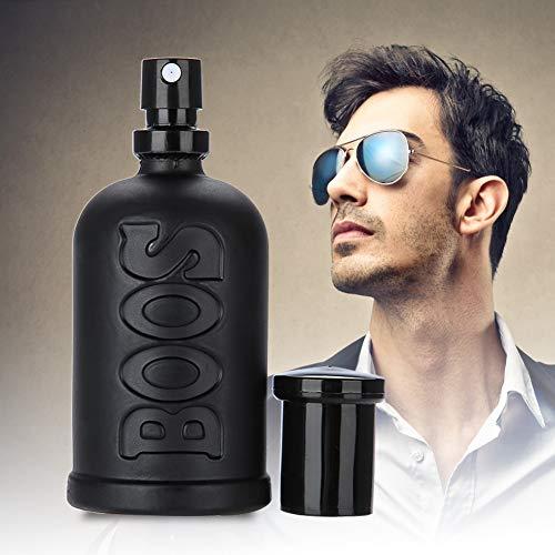 Perfume para Hombre, 50ml Colonia Men Perfume Eau de toilette Spray, Gentleman Líquido de larga duración Perfume fresco de verano para Cena de negocios y Citas (Negro)