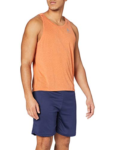 Odlo Herren BL TOP V-Neck Tank Aion Shirt, Hawaiian Sunset Melange, L