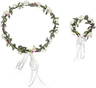 Robe de Mariage Demoiselle D/'Honneur Fleur Filles Amour Cristal Tiara Couronne//Serre-tête 015