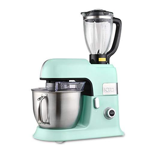 Kitchencook - Robot da 6,5 l, con frullatore sicuro e accessori in teflon Expert_xl, colore: Verde