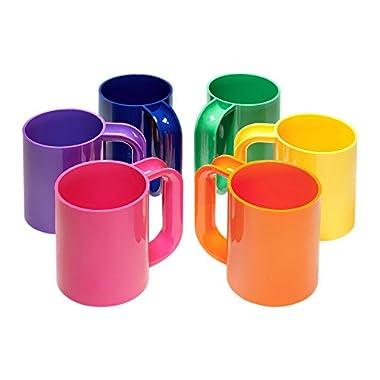 Heller Dinnerware Vignelli Rainbow Mug - Set of 6