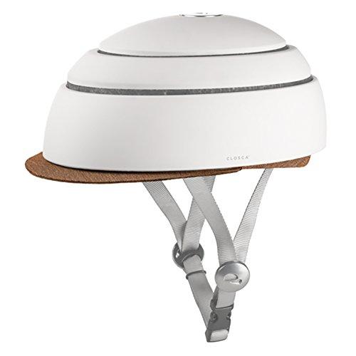 Closca Helmet Visor Tangerine Fahrradhelm für Erwachsene, Unisex, Orange, L 25,8 cm x B 21 cm x H 4 cm