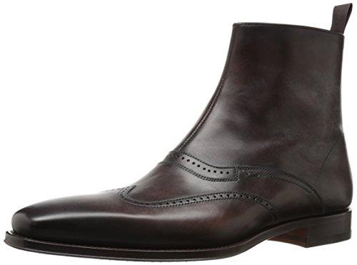 Magnanni Men's Diseal Chelsea Boot, Maroon, 10.5 M US