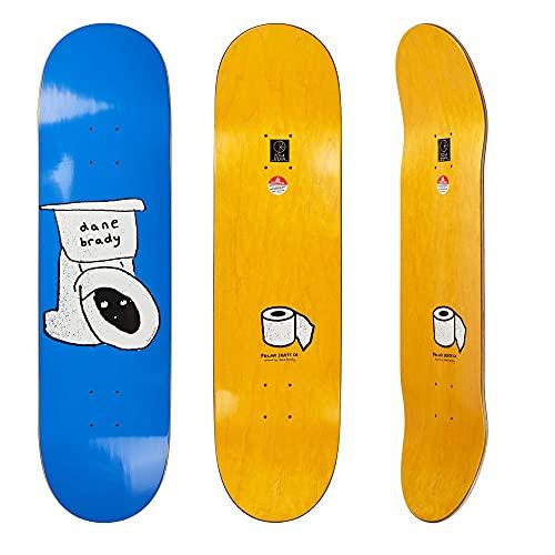 Polar Skate CO Skateboard Toilet Dane Brady 8.5 Zoll Blau - Inklusive Grip