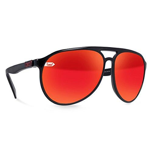 gloryfy unbreakable eyewear Unisex– Erwachsene gloryfy Gi3 Navigator Timo Scheider Sonnenbrille, anthrazit/black, L