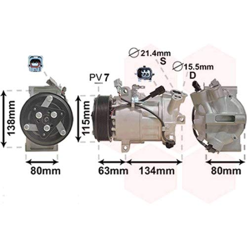 Preisvergleich Produktbild VAN WEZEL 4301K703 Klimaanlagen