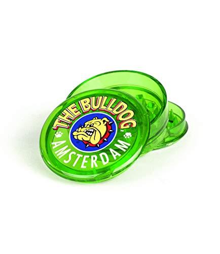 Effriteuse en plastique 3 parties The Bulldog (Vert)