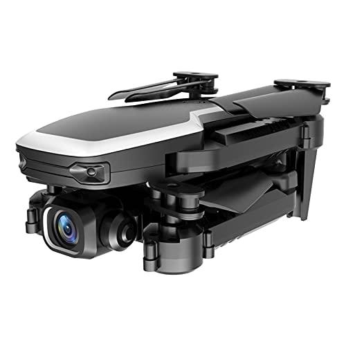 Drohnen-Kit Mini Faltbare Drohne mit 4K HD Dual Kamera WiFi 2.4G RC Quadcopter Drohne (mit Batterie Fernbedienung Batterie Ladekabel Ersatzklinge Schutzrahmen Aufbewahrungstasche Schraubendreher)