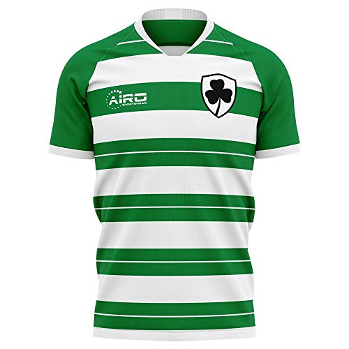 Airosportswear 2020-2021 Shamrock Rovers Home Concept Football Soccer T-Shirt Jersey - Little Boys