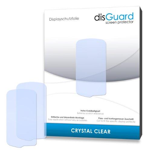 disGuard Displayschutzfolie für Garmin Monterra [4 Stück] Crystal Clear, Kristall-klar, Unsichtbar, Extrem Kratzfest - Displayschutz, Schutzfolie, Glasfolie, Panzerfolie