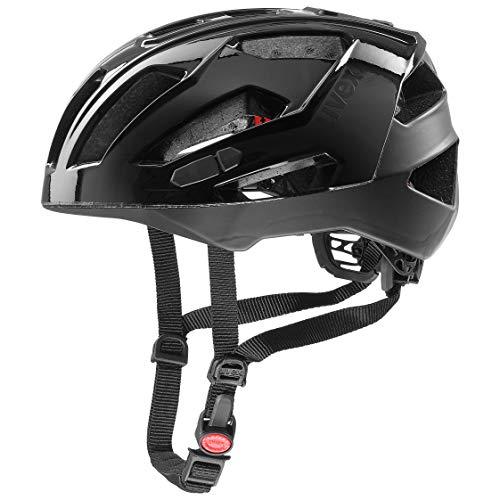Uvex Unisex– Erwachsene, quatro xc Fahrradhelm, black, 52-57 cm