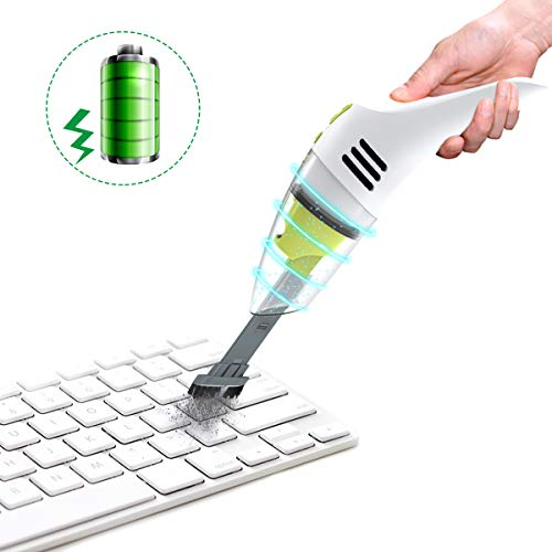 MECO Keyboard Cleaner, Rechargeable Mini Vacuum Wet Dry Cordless Desk Vacuum Cleaner, Best Cleaner...