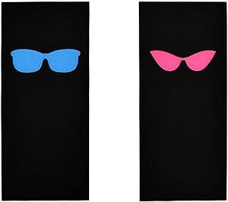 Son & sien lunettes de soleil ensemble de deux enseignes de salle de bain - signes de toilettes modernes - signes de WC dr...
