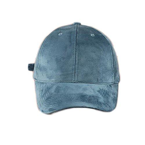 Qingsun Unisexe Jean Sport Hat Casual Denim Casquette de Baseball Fashion Voyage Chapeau de Plage idéal pour Vacances