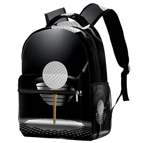 Mochila de fútbol americano para ordenador portátil, mochila escolar para niños y niñas, mochila de lona