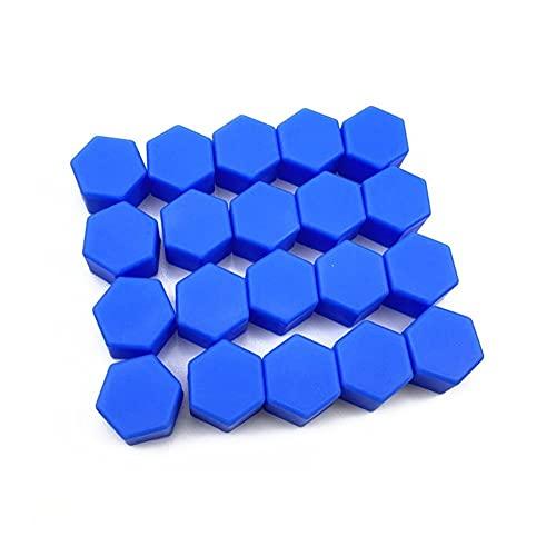 Accesorios para Automóviles Tornillos De Rueda Cubierta/Ajuste para - Renault/KoleOS Flueec Latitude Sandero Kadjar Captur Talisman Megane Laguna Scenic Alaska (Color Name : 21mm Blue)
