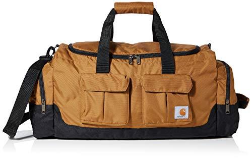 Carhartt Unisex-Adult Legacy 25 Inch Utility Duffel Bag Carry-On Luggage, Brown, OFA