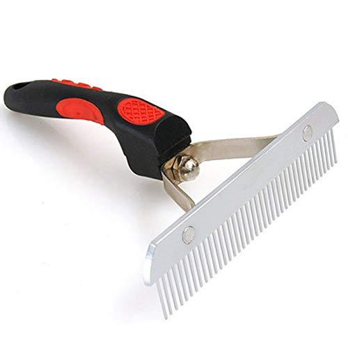 LLYU Peigne Noeud Cheveux épilation Peigne toilettage pour Animaux Peigne Chien Peigne de Massage de Chat