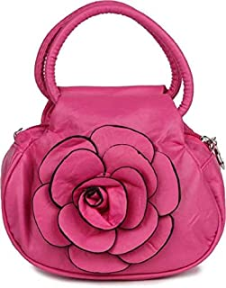 DN Enterprises Women's Handbag (Rose_Handbag-Light Pink_Transparent)