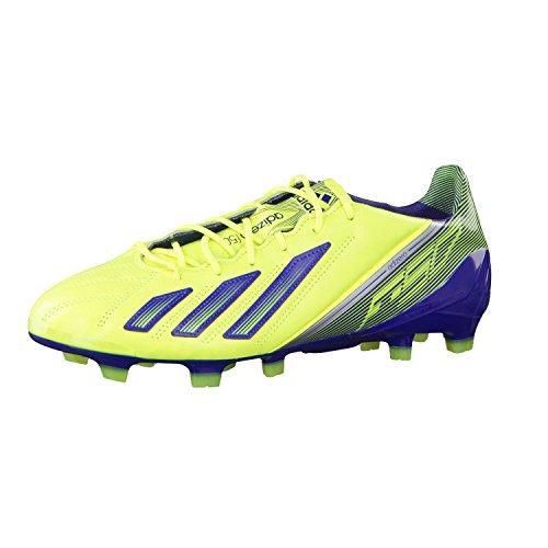Q33847|Adidas F50 Adizero TRX FG Leder Electricity|40 2/3 UK 7