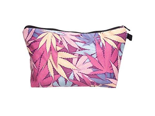 Beauty Case, borsa da viaggio, borsetta da toilette sacco sacchetto bagno per cosmetici trucco make up motivi diversi, Kosmetiktasche KT-002-050:KT-046 cranio ancora