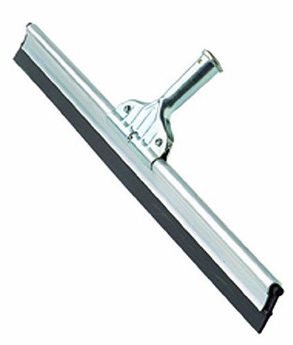 Maya Professional Tools 55024 Ettore Profi-Fensterreinigung Abzieher, Aluminium mit Ersatz-Gummilippe, 60 cm