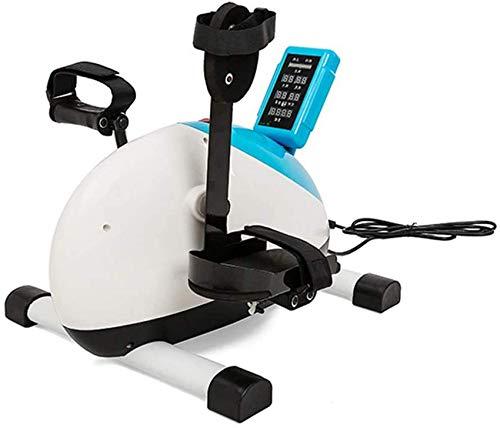 ZCYXQR Pedal Trainer Bicicleta de rehabilitación de buhonero médico eléctrico , Stroke Hemipléjico Portátil Fisioterapia de extremidades Superiores e Inferiores Ideal Cardio T (Deporte de Interior)