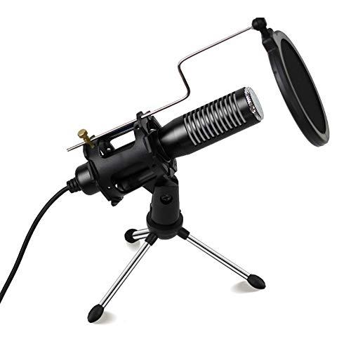 YYZLG Deze microfoon is geschikt voor indoor live-uitzending, persoonlijke opname K-nummer, instrumentprestaties, videochat, podcast-opname, enz.