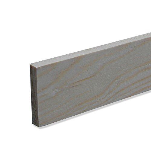 Rechteckleiste Bastelleiste Abschlussleiste aus unbehandeltem Kiefer-Massivholz 2400 x 9 x 13 mm