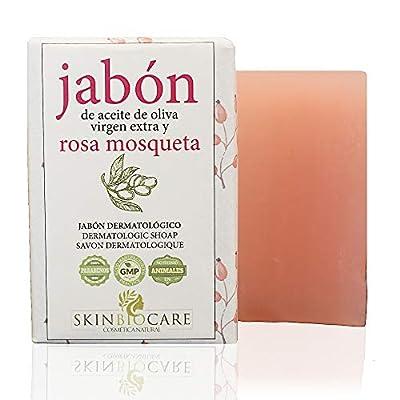 Jabón facial Rosa Mosqueta