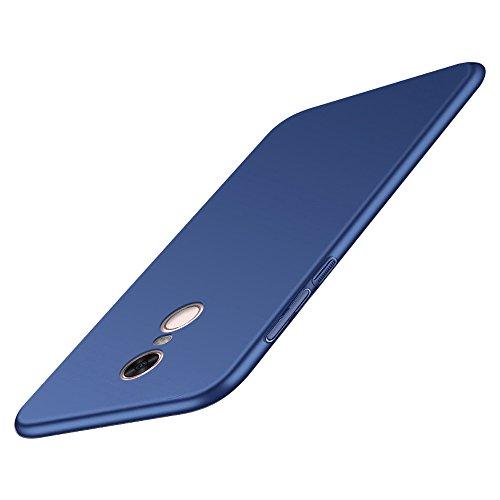 BLUGUL Funda Xiaomi Redmi 5, Ultra Delgado, Revestimiento de Acabado Mate Premium, Ultra Ligero, Dura Cover Case para Redmi 5 Azul