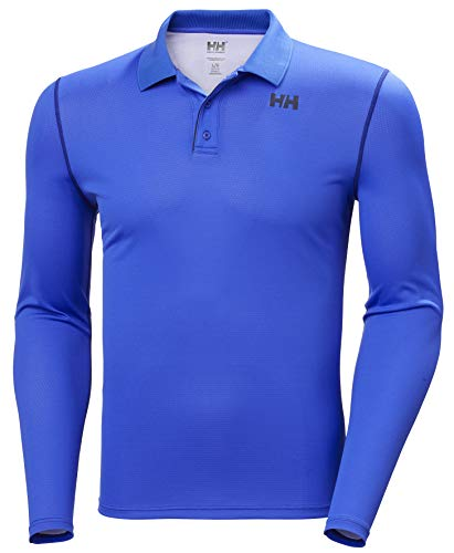 Helly Hansen Active Solen Manche Longue Homme Manche Longue Homme Royal Blue FR : S (Taille Fabricant : S)