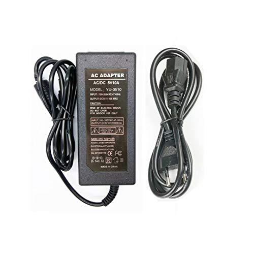 Netzteil 5V 10A 50W,Netzadapter Transformator Ladegerät für LED Streifen,Router, Lautsprecher, LCD-Fernseher, Kameras, TV-Boxen, USB-Hub und 5V Heim-Elektronik
